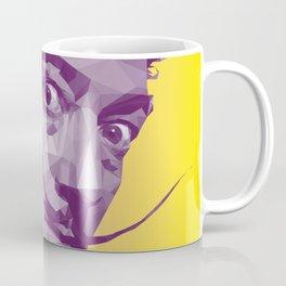 Salvador Dali Low Poly Collection Coffee Mug