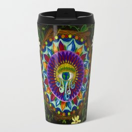 Nature Mandala Travel Mug