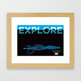 EXPLORE 2 Framed Art Print
