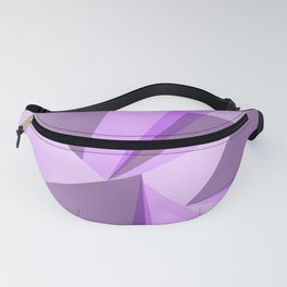 Meditation - Purple Abstract Fanny Pack