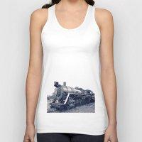 train Tank Tops featuring Train by Jaramillo Velez