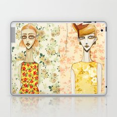 flowerella 3 Laptop & iPad Skin