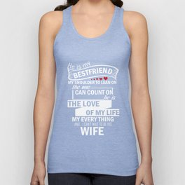 I LOVE MY FUTURE HUSBAND T-SHIRT Unisex Tank Top