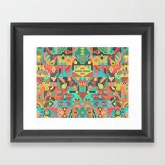 Schema 10 Framed Art Print