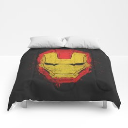 Iron Man splash Comforters