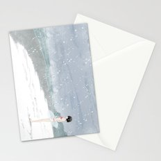 This is not the time for beach Stationery Cards
