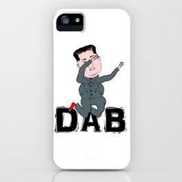 Kim Jong Un Dabbing iPhone Case