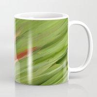 grass Mugs featuring Grass by Paul Kimble
