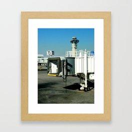 Jetway Framed Art Print
