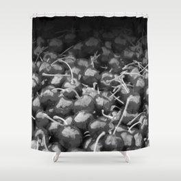 cherries pattern hvhdbw Shower Curtain