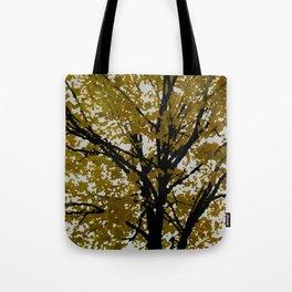 Yellow Tree Tote Bag