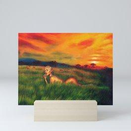 Savanna Mini Art Print