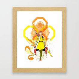 Mod Amaterasu Framed Art Print