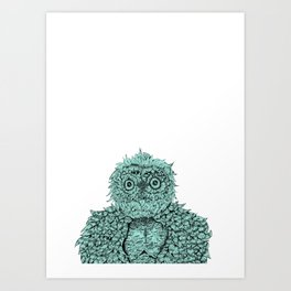 Peekaboo Art Print