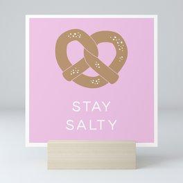 Stay Salty in Pink Mini Art Print