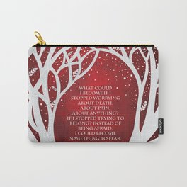 What Could I Become - Cruel Prince Quote Carry-All Pouch