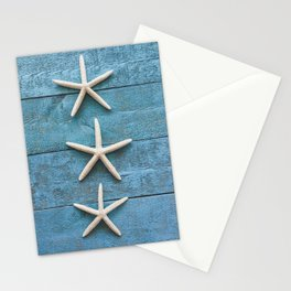 Starfish Trio Stationery Cards