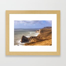 Jurrasic Coast Dorset Framed Art Print