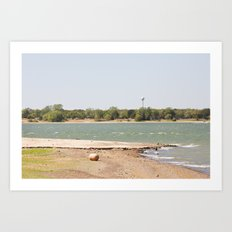 Lewisville Lake Art Print