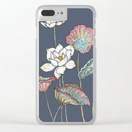 Lotus Symphony Clear iPhone Case