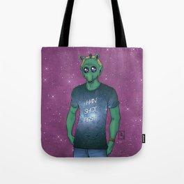 Hipster Greedo Tote Bag