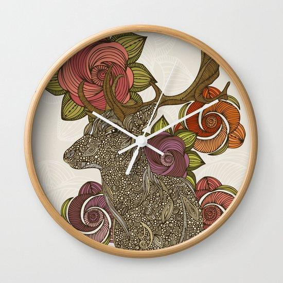 Dear deer Wall Clock