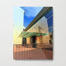 Archeology museum of Wels | architectural photography Metal Print