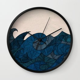 - another winter waves - Wall Clock