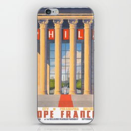 Philadelphia Welcomes Pope Francis iPhone Skin