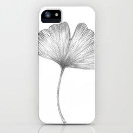 Ginkgo biloba I iPhone Case