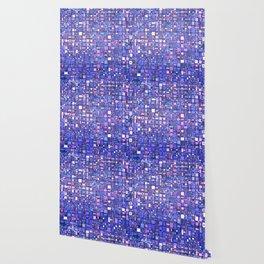 Blue Cubes Wallpaper