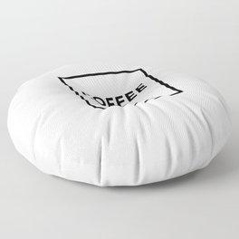 Coffee No5 Floor Pillow