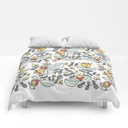 Watercolor Floral Comforters