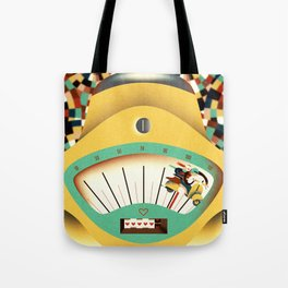 as fast as love Tote Bag