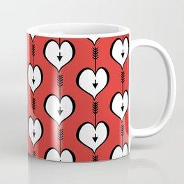 Loving You white hearts Coffee Mug