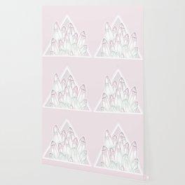 Crystals - Pink Wallpaper