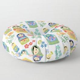 Russian Nesting Dolls Floor Pillow