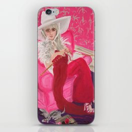 """miu miu, tuesday around 4 ish"" iPhone Skin"