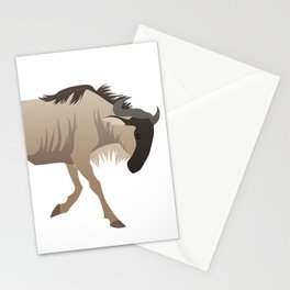Wildebeest Stationery Cards