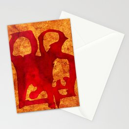 Rock Couple Stationery Cards
