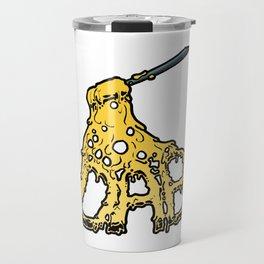 Melting DAB cannabis marijuana art design Travel Mug