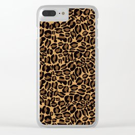 Leopard Print | Cheetah texture pattern Clear iPhone Case