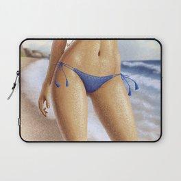 Afro girl bikini Laptop Sleeve