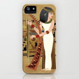 The Harpist iPhone Case