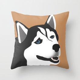 Sneezing Lad Throw Pillow
