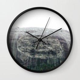 Atlanta Stone mountain park Wall Clock