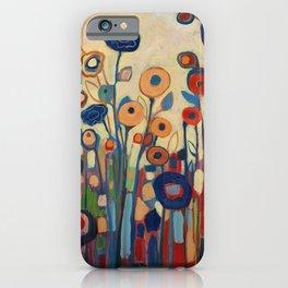 Meet Me in My Garden Dreams iPhone Case