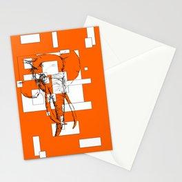 Orange is the New Elephant Stationery Cards