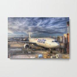 Iran Air Airbus A330 Metal Print