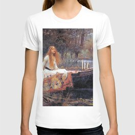 THE LADY OF SHALLOT - WATERHOUSE T-shirt